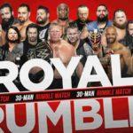 WWE・2020.1.26・ロイヤルランブル2020の対戦カード