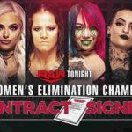 次期RAW女子王座挑戦者決定戦・調印式で大乱闘!【WWE・RAW・2020.2.24・PART2】