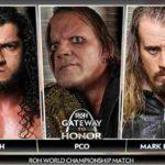ROH・2020.2.29・ゲートウェイトゥオナー・試合結果