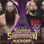 WWE・2020.2.27・スーパーショーダウン2020・試合結果・PART1【キックオフショー~マンソー】