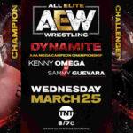 AAAメガ王座戦、ケニー・オメガ対サミー・ゲバラ!ブロディ・リーのAEWデビュー戦!【AEW・2020.3.25・EP25・後半】