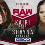 ライバル対決、カイリ・セイン対ベイズラー!オートンがエッジの妻にRKO!【WWE・RAW・2020.3.2・PART2】