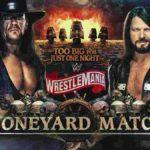 WWE・2020.4.4・レッスルマニア36・初日・PART2【SDタッグ王座戦~ボーンヤードマッチ】