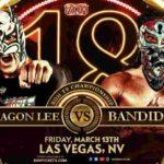 ROH・2020.3.13・18周年記念大会の対戦カード