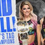 WWE女子タッグ王座戦、アレクサ&ニッキー対カーメラ&デイナ!【WWE・スマックダウン・2020.4.24・PART2】