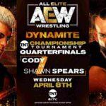 初代TNT王座決定トーナメント開幕、コーディ対スピアーズ!ブロディ・リーが2連勝!【AEW・2020.4.8・EP27・後半】