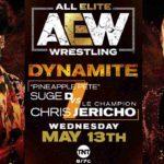 クリス・ジェリコ対パイナップル・ピート!ジェリコがマットのドローンを破壊!【AEW・2020.5.13・後半】