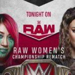 RAW女子王座戦、アスカ対ナイア・ジャックス!ナイアがレフェリー突き飛ばし!【WWE・RAW・2020.6.15・PART2】