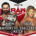 王者対挑戦者!マッキンタイア&アスカ対ジグラー&サーシャ!【WWE・RAW・2020.6.29・PART2】