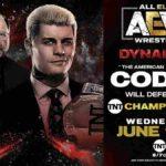 TNT王座戦、コーディ対リッキー・スタークス!ヤングバックスがダブルカミゴェ!【AEW・2020.6.17・後半】