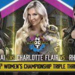 WWE・2020.6.7・NXTテイクオーバー:インユアハウス・試合結果・PART2【クロス対チャンパ~女子王座戦】