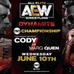 TNT王座戦、コーディ対マーク・クエン!次期挑戦者ブライアン・ケイジが王者モクスリーを襲撃!【AEW・2020.6.10・後半】