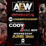 TNT王座戦、コーディ対ジャングルボーイ!【AEW・2020.6.3・後半】
