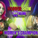 WWE・2020.7.19・エクストリームルールズ2020・試合結果・PART2【RAW女子王座戦~スワンプファイト】