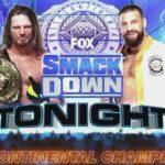 IC王座戦、AJスタイルズ対ドリュー・グラック!【WWE・スマックダウン・2020.7.3・PART1】