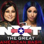 女子王座戦、紫雷イオ対サーシャ・バンクス!イオのピンチをアスカが毒霧で救出!【WWE・NXT・2020.7.1・PART2】