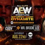TNT王座戦、コーディ対ブロディ・リー!ブロディ・リーがディスカスクローズラインで王座奪取!【AEW・2020.8.22・後半】