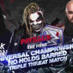 WWE・2020.8.30・ペイバック2020・試合結果・PART2【キース・リー対オートン~ユニバーサル王座】