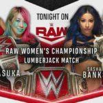 アスカがRAW女子王座戦・ランバージャックマッチに勝利!キース・リーのRAWデビュー戦は不完全燃焼…【WWE・RAW・2020.8.24・PART2】