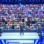 サンダードーム(バーチャル観客)開始!タッグ王座戦、中邑真輔&セザーロ&ルチャハウスパーティー!【WWE・スマックダウン・2020.8.21・PART1】