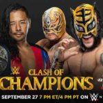 WWE・2020.9.27・クラッシュオブチャンピオンズ2020・試合結果・PART1【SDタッグ王座戦~US王座戦】