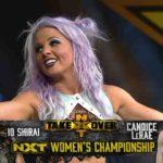 キャンディス・レラエが王者・紫雷イオへの挑戦権を獲得!【WWE・NXT・2020.9.23・PART1】