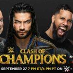 WWE・2020.9.27・クラッシュオブチャンピオンズ2020・試合結果・PART2【RAWタッグ王座戦~ユニバーサル王座戦】