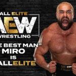 ミロ(元WWEのルセフ)がAEW参戦!ジュラシックエクスプレスがルチャブロス撃破!【AEW・2020.9.9・前半】