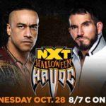 ハロウィン特別編!ジョニー・ガルガノがデビルズプレイグラウンドマッチで王座奪還!【WWE・NXT・2020.10.28・PART1】