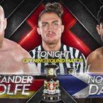 ヘリテージカップ開幕!ノアム・ダー対アレクサンダー・ウルフ!【WWE・NXT UK・2020.10.1】