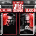 ピュア王座トーナメント1回戦、PJブラック対トニー・デッペン!元WWEのEC3がROH参戦!【ROH・#472】