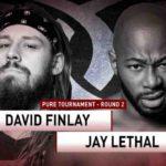 初対決!ピュア王座トーナメント2回戦、デビッド・フィンレー対ジェイ・リーサル!【ROH・#473】