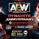 TNT王座戦、コーディ対キャシディ!タッグ王座戦、FTR対ベストフレンズ!【AEW・2020.10.14・前半】
