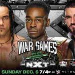 WWE・2020.12.6・NXTテイクオーバー:ウォーゲームズ2020・試合結果・PART2【北米王座戦~ウォーゲームズ戦】