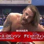 デビッド・フィンレーがNEVER王者・鷹木に勝利「俺がシンゴから3カウント取った」【新日本プロレス・2020.11.28】
