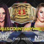 女子王座戦・エニウェアフォールマッチ、ケイ・リー・レイ対パイパー・ニーブン!【WWE・NXT UK・2020.11.19】