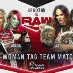 サバイバーシリーズ2020直前回!アスカ完勝!ニューデイがタッグ王座防衛!【WWE・RAW・2020.11.16・PART1】