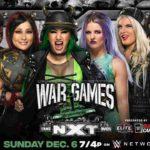 WWE・2020.12.6・NXTテイクオーバー:ウォーゲームズ2020・試合結果・PART1【女子ウォーゲームズ戦~ストラップ戦】