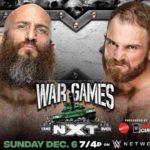 WWE・2020.12.6・NXTテイクオーバー:ウォーゲームズ2020の対戦カード