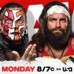 ジェフ・ハーディーが場外スワントーンボムでテーブルクラッシュ!【WWE・RAW・2020.11.30・PART1】
