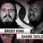 ROH重量級対決!ブロディ・キングがショートレンジラリアット3連発でテイラーに初勝利!【ROH・#480】
