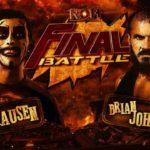 ROH・2020.12.18・ファイナルバトル2020の対戦カード