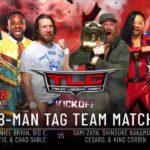 WWE・2020.12.20・TLC2020・試合結果・PART1【キックオフショー~RAWタッグ王座戦】