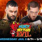 WWE・2021.1.6・NXTニューイヤーズイービル2021の対戦カード
