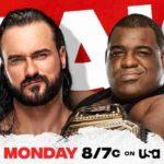 巨体キース・リーが雪崩式スパニッシュフライ!オートンがカウンターRKO!【WWE・RAW・2021.1.4・PART2】