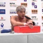 KENTAがUS王者モクスリーに挑戦表明「俺、挑戦するぅ、勝ったから、喜んで」【新日本プロレス・2021.1.4・PART2】
